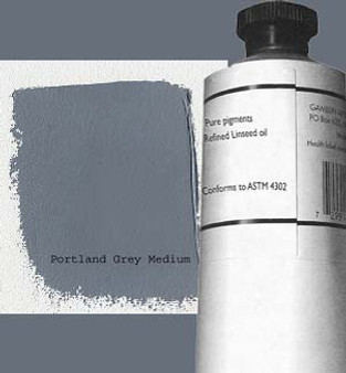 Gamblin Artists Oil Color 150ml Series 2: Portland Grey Medium