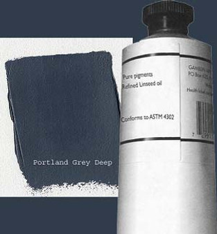 Gamblin Artists Oil Color 150ml Series 2: Portland Grey Deep