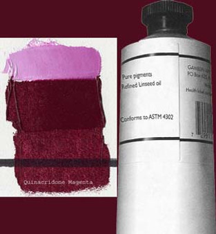 Gamblin Artists Oil Color 150ml Series 3: Quinacridone Magenta