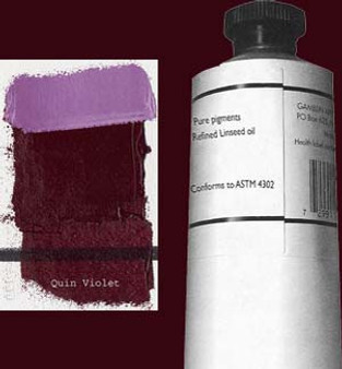 Gamblin Artists Oil Color 150ml Series 3: Quinacridone Violet