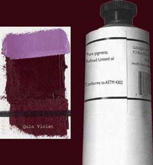 Gamblin Artists Oil Color 150ml Series 3: Quinacridone Violet