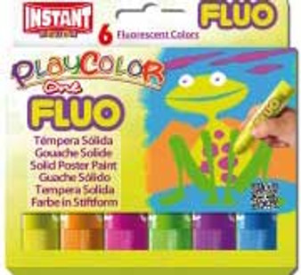 PlayColor Fluo 6 Color Set