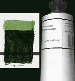 Gamblin Artists Oil Color 150ml Series 2: Sap Green