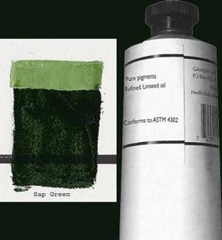 Gamblin Artists Oil Color 150ml Series 2: Sap Green