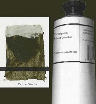 Gamblin Artists Oil Color 150ml Series 2: Terre Verte