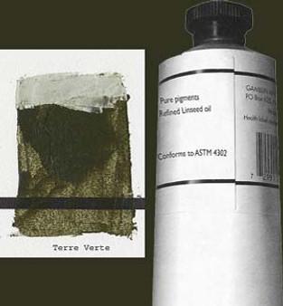 Gamblin Artists Oil Color 150ml Series 2: Terre Verte