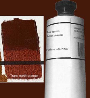 Gamblin Artists Oil Color 150ml Series 3: Transparent Earth Orange