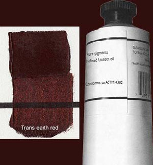 Gamblin Artists Oil Color 150ml Series 3: Transparent Earth Red