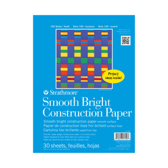 Strathmore Kids Construction Paper Smooth Bright