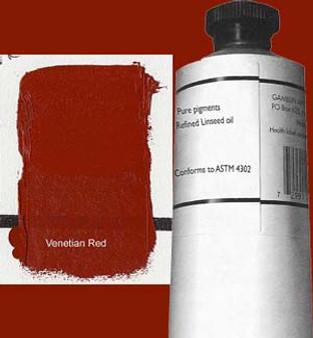 Gamblin Artists Oil Color 150ml Series 1: Venetian Red