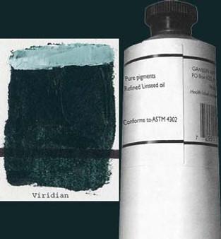 Gamblin Artists Oil Color 150ml Series 4: Viridian
