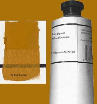 Gamblin Artists Oil Color 150ml Series 1: Yellow Ochre