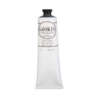 Gamblin Artists Oil Color 150ml Series 1: Titanium White