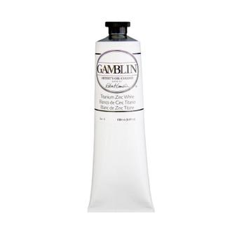 Gamblin Artists Oil Color 150ml Series 1: Titanium-Zinc White