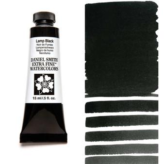 Daniel Smith Extra-Fine Watercolor 15ml Lamp Black