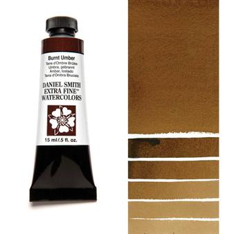 Daniel Smith Extra-Fine Watercolor 15ml Burnt Umber