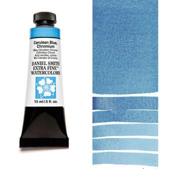 Daniel Smith Extra-Fine Watercolor 15ml Cerulean Blue Chromium