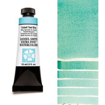 Daniel Smith Extra-Fine Watercolor 15ml Cobalt Teal Blue