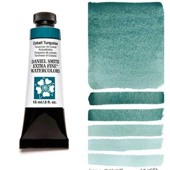 Daniel Smith Extra-Fine Watercolor 15ml Cobalt Turquoise