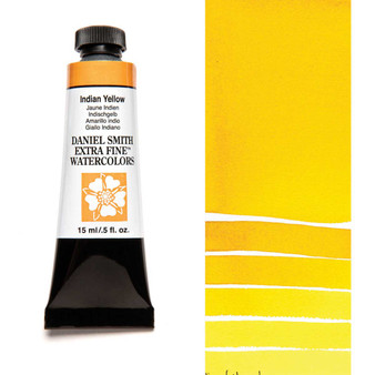 Daniel Smith Extra-Fine Watercolor 15ml Indian Yellow