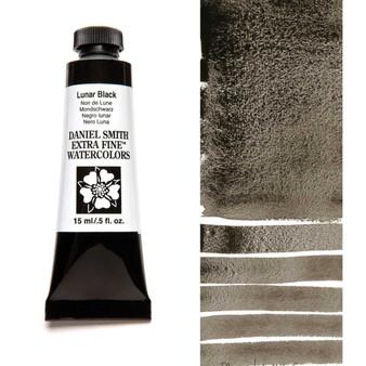 Daniel Smith Extra-Fine Watercolor 15ml Lunar Black