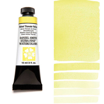 Daniel Smith Extra-Fine Watercolor 15ml Nickel Titanate Yellow
