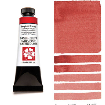 Daniel Smith Extra-Fine Watercolor 15ml Perylene Scarlet