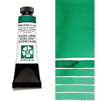 Daniel Smith Extra-Fine Watercolor 15ml Phthalo Green Blue Shade