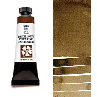 Daniel Smith Extra-Fine Watercolor 15ml Sepia