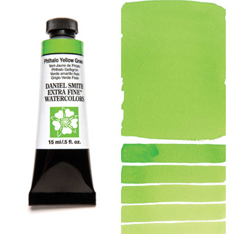 Daniel Smith Extra-Fine Watercolor 15ml Phthalo Yellow Green
