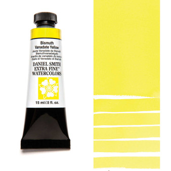Daniel Smith Extra-Fine Watercolor 15ml Bismuth Vanadate Yellow