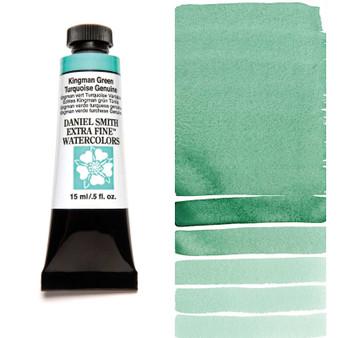 Daniel Smith Watercolor 15ml Tube PrimaTek Kingman Green Turquoise Genuine