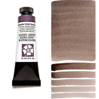 Daniel Smith Extra-Fine Watercolor 15ml Hematite Violet Genuine (Primatek)