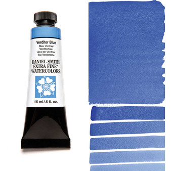 Daniel Smith Extra-Fine Watercolor 15ml Verditer Blue