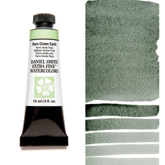 Daniel Smith Extra-Fine Watercolor 15ml Rare Green Earth