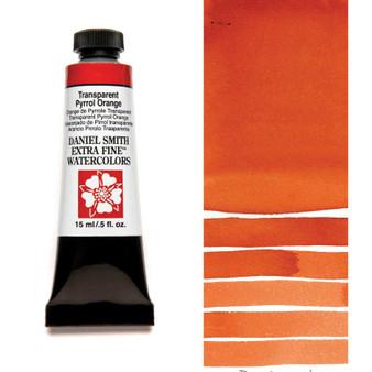 Daniel Smith Extra-Fine Watercolor 15ml Transparent Pyrrole Orange