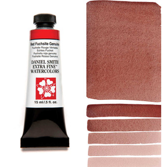 Daniel Smith Extra-Fine Watercolor 15ml Red Fuchsite Genuine (Primatek)