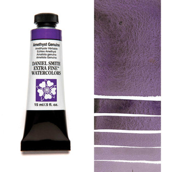 Daniel Smith Extra-Fine Watercolor 15ml Amethyst Genuine (Primatek)