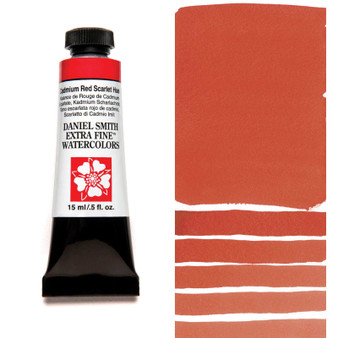 Daniel Smith Watercolor 15ml Cadmium Red Scarlet