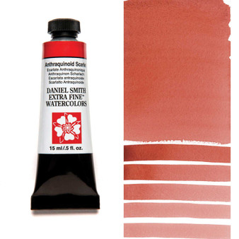 Daniel Smith Watercolor 15ml Tube Limited Edition Anthraquinoid Scarlet