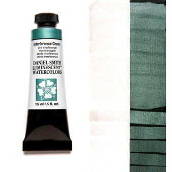 Daniel Smith Extra-Fine Watercolor 15ml Interference Green