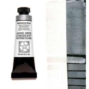 Daniel Smith Extra-Fine Watercolor 15ml Interference Silver