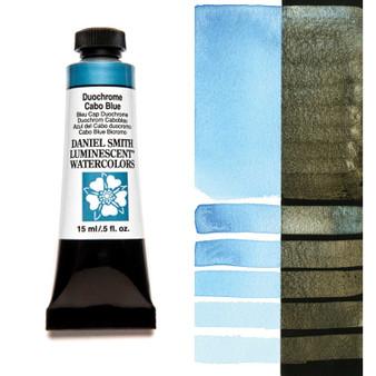 Daniel Smith Extra-Fine Watercolor 15ml Duochrome Cabo Blue