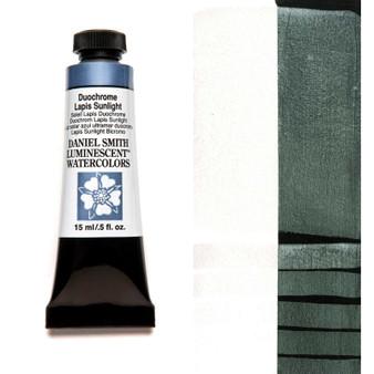 Daniel Smith Extra-Fine Watercolor 15ml Duochrome Lapis Sunlight
