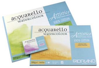 Fabriano Artistico Traditional White Cold Press 20sht 9x12-Inch