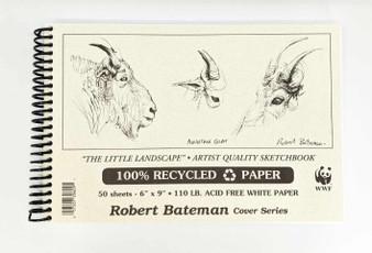 Robert Bateman Sketch Pad 6x9