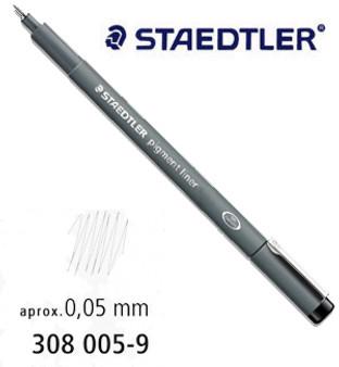 Staedtler Pigment Liner 0.05 Black