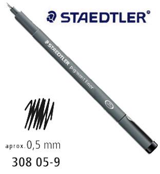 Staedtler Pigment Liner 0.5 Black