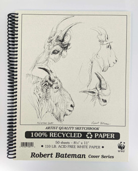 Robert Bateman Sketch Pad 8.5x11
