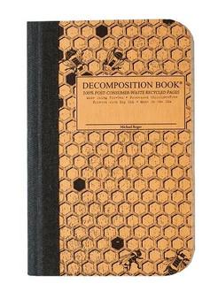 Michael Roger Press Decomposition Pocket Notebook Ruled Honeycomb